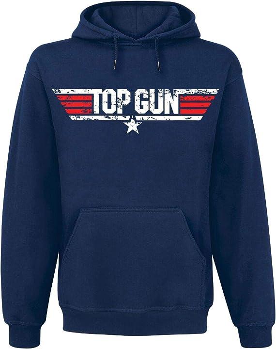 Felpa con cappuccio top gun HYB-UH-PM-3-TTG009-H26-9