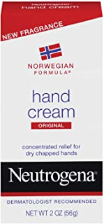 Neutrogena Norwegian Formula Moisturizing Hand Cream Formulated with Glycerin for Dry, Rough Hands, Scented Intensive Hand...
