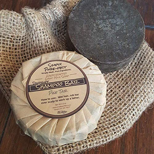 Solid Shampoo Bar - Handmade - Natural Ingredients - 2 Pack - Thick, Bubbly Lather - Balances Oil Production - No Chemicals or Silicones to Weigh Hair Down - great gift for Father's Day