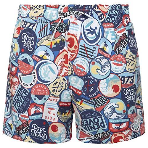 Pepe Jeans PBB10258 Kinder-Badeanzug Phenix, PBB10258, Mehrfarbig, PBB10258 12 Jahre