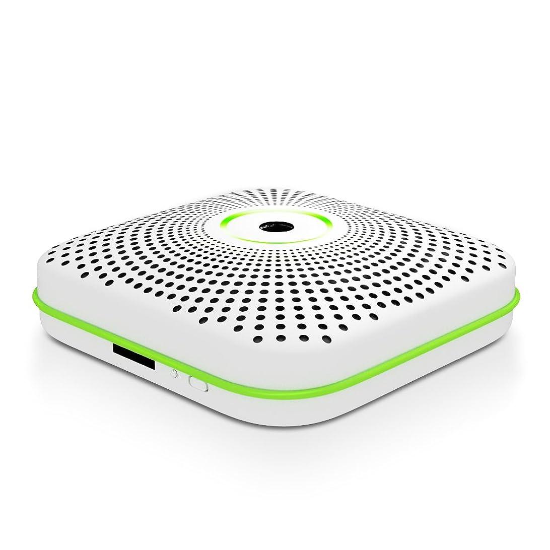 アクロバット不安定な慣性AISOUL 隠しカメラ Wi-Fi接続 煙探知機型 動体検知 音声双方向 PM2.5検出 高画質防犯カメラ 日本語説明書