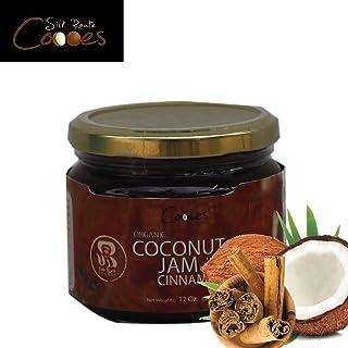 Organic Coconut Jam with Cinnamon | Coconut Spread | Vegan | Non-GMO | Gluten-Free | Keto Friendly | Dairy Free - 12 ounce...