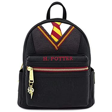 Loungefly Harry Potter Faux Leather School Uniform Womens Double Strap Shoulder Bag Purse