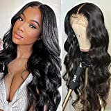 HD Lace Front Wigs Human Hair,HD Lace wig,180 Density Transparent Lace Front Wigs Human Hair,13x4 Hd Lace Front Wigs Human Hair,Body Wave Lace Front Wigs, Pre-Plucked With Baby Hair Brazilian,Human Hair Wigs for Black Women(22inch)