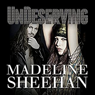 Undeserving     Undeniable, Book 5              Written by:                                                                                                                                 Madeline Sheehan                               Narrated by:                                                                                                                                 Tatiana Sokolov                      Length: 10 hrs and 12 mins     Not rated yet     Overall 0.0