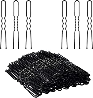 U Shaped Hair Pins, IKOCO 80pcs of Bun Hair Pins for Women Girls with Storage Box(2.4 Inch)