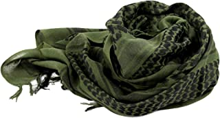 HighlifeS Tactical Scarf Outdoor Military Arab Tactical Desert Keffiyeh Scarf Shawl Neck Cover Head Wrap (C)