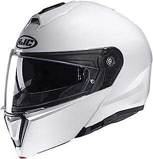 HJC Unisex-Adult Flip-Up Helmet (White, X-Large)