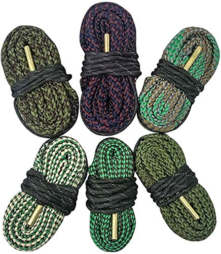 Big Country Wholesale Cobra 6 Pack Bore Cleaning Snakes | 6 Count Bore Snakes 223 22 5.56 9mm 308 45/70 .45 .44 380 .40 .41 and More
