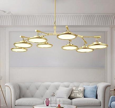 Nordischer postmoderner Leuchter-Baumast-molekulare UFO-hängende Lampe Lampe Lampe Wohnzimmer-   Esszimmer-   Schlafzimmer-upscale Goldene LED-Deckenleuchte B07CKX94XK | Zu einem niedrigeren Preis  996ce7