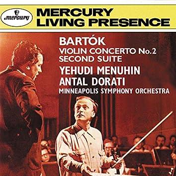 Bartók: Violin Concerto No. 2; Suite No. 2