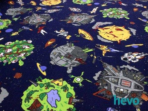 Kinderspielteppich Space - 2