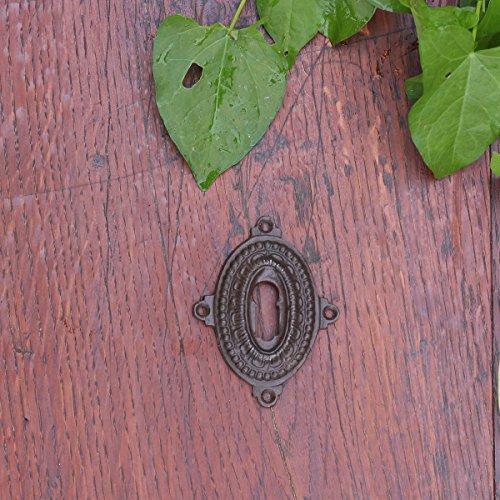 Antikas - rosetón bocallave - rosetónes antiguos de hierro rosetón puerta de cuarto