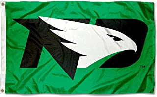 College Flags and Banners Co. North Dakota Fighting Hawks New Logo Flag