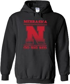 Nebraska Cornhuskers Nebraska N GO Big RED Hooded Sweatshirt