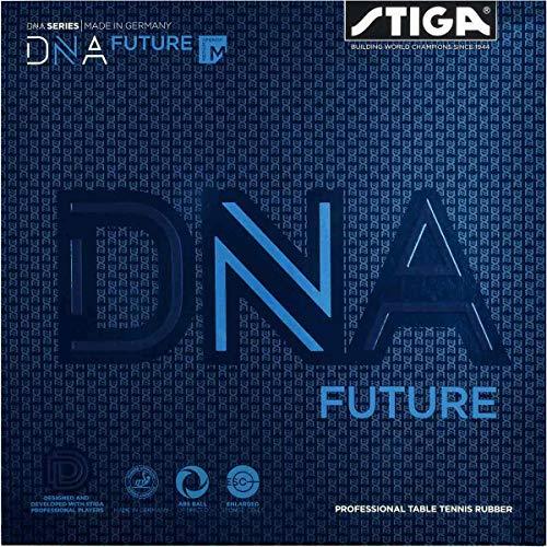Stiga Unisex-Adult DNA Future M Tischtennis Beläge, Red, 2.1