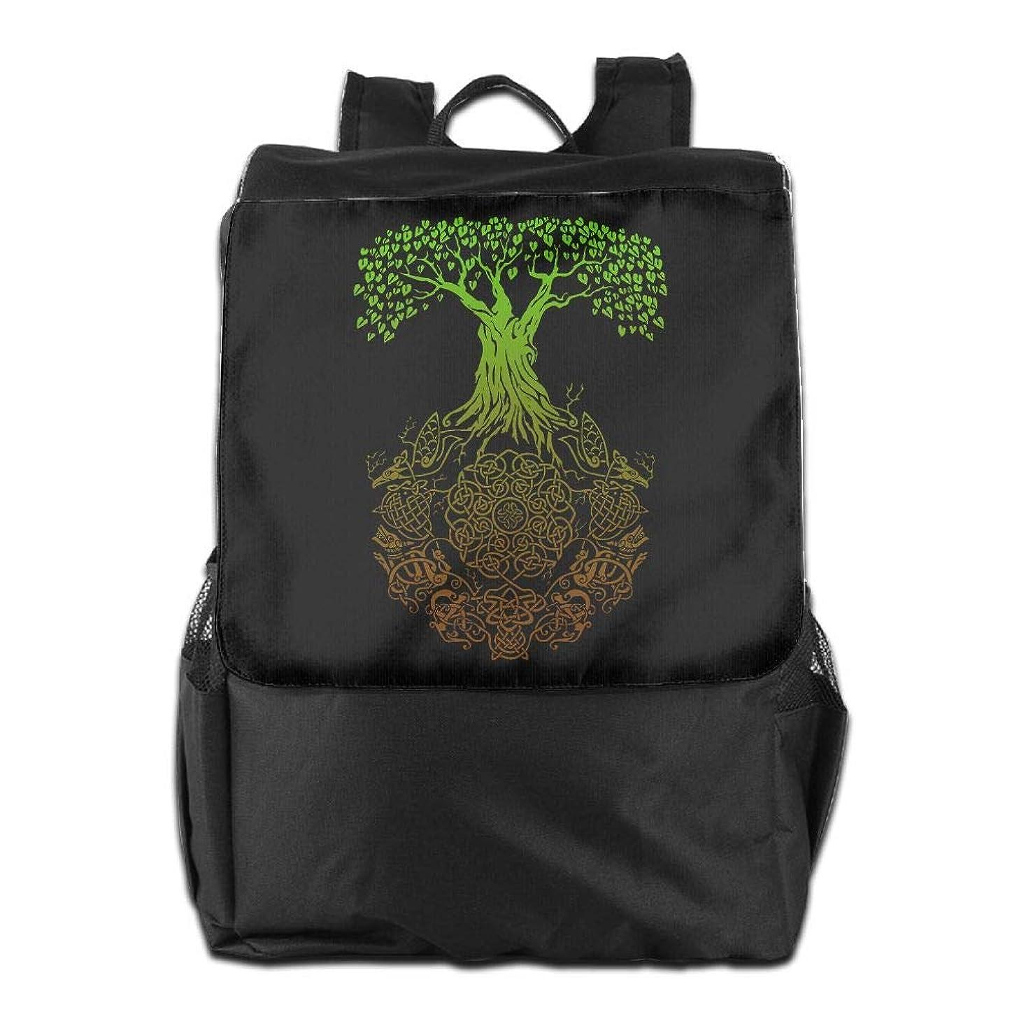 Louise Morrison Celtic Tree Of Life Women Men Laptop Travel Backpack College School Bookbag