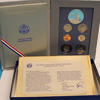 1986 US Mint Prestige Proof Set Original Government Packaging