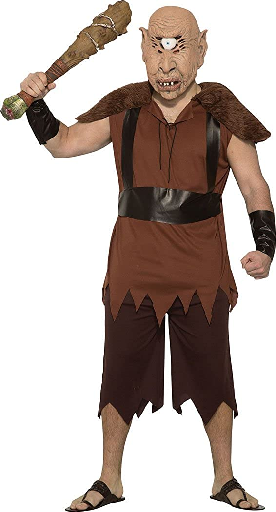 Bristol Novelty Mens Halloween Cyclops Outfit Max Outlet ☆ Free Shipping 81% OFF Costume Size Chest