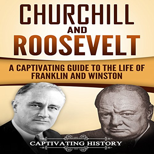 Churchill and Roosevelt audiobook cover art