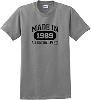50th Birthday Gifts Made 1969 All Original Parts T-Shirt