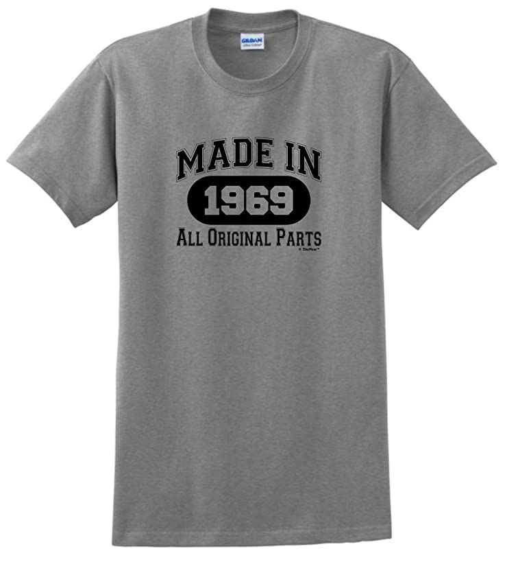 50th Birthday Gifts Made 1969 All Original Parts T-Shirt