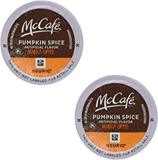 McCafe Pumpkin Spice Coffee, K-Cup Pods (12 Count - Pack of 2)