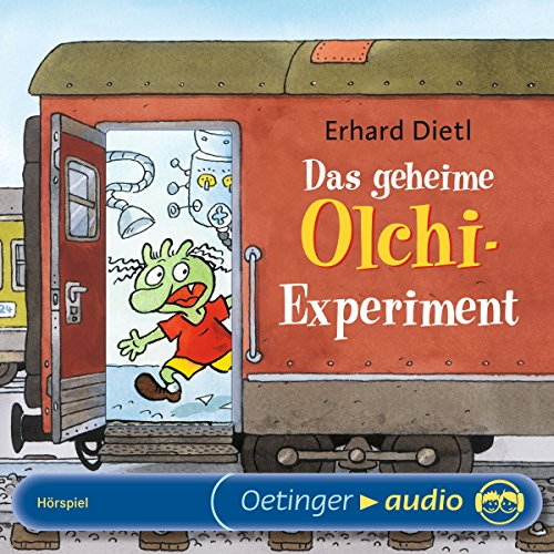 Das geheime Olchi-Experiment audiobook cover art
