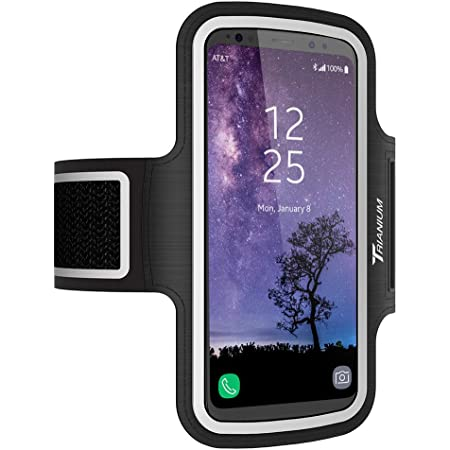 Amazon Com Trianium Armband Water Resistant Large Cell Phone Armband For Iphone 12 Pro 12 Mini 11 Pro Max Xs Max Xr X 8 Plus Galaxy S20 S10 S10e S10 Note 10 And More Workout Band Skin Key Holder 2nd Gen