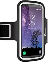 Trianium Armband, Water Resistant Large Cell Phone Armband for iPhone Xs/XS Max/XR/X/8 Plus, Galaxy S10/S10e/S10+/S9/S9/Note 9, Google Pixel 2 XL and More for Workout Band Skin & Key Holder(2nd Gen)