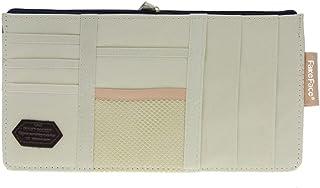 Demino Coche Parasol Organizador Multifuncional de Piel de la PU de los vidrios del almacenaje del Clip Documentos Carpeta de la Tarjeta de CD del sostenedor Naranja 12.5 15cm