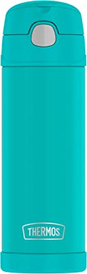 Thermos Funtainer 16 Ounce Bottle with spout, Aqua (F40420AQ6)