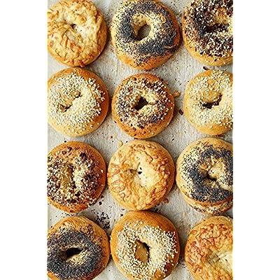 Amazon - 15% Off on 2 Dz. Assorted Freshly Baked Bagels 6 Plain 6 Poppy 6 Sesame 6 Everything