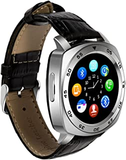 TechComm DM87 Bluetooth and GSM Unlocked Smartwatch with Built-in Camera, Smart Alerts,