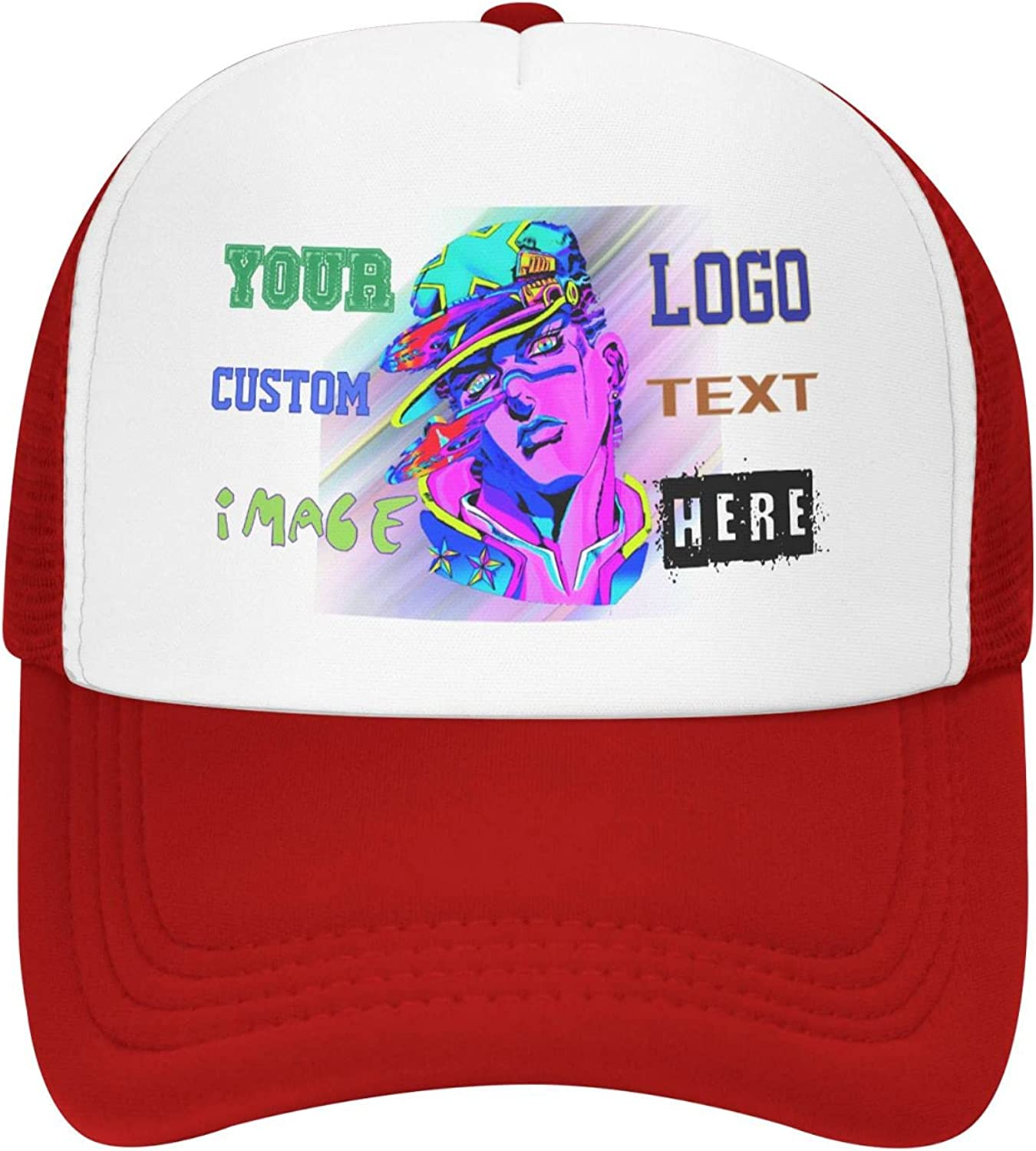 Custom Caps Baseball Hats Hat Cus Outstanding Excellence Trucker Personalized