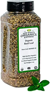 Sponsored Ad - HQOExpress | Organic Basil Medium | 6 oz. Chef Jar