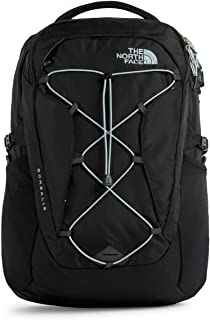 north face women's borealis backpack black and blue