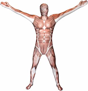 Muscle Kids Morphsuit Costume - size Medium 3'6-3'11 (105cm-119cm)