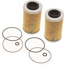 Sea Doo Oil Filter & O-Ring Kit GTI GTS Se GTR GTX SC RXP RXT RXPX RXTX 2-Pack