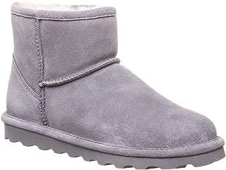 BEARPAW 女式 Alyssa 靴子灰色雾色 42 码