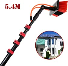 JSZMQD Telescopic Cleaning Rod, Window Clean 3.6-9M Washing Set Equipment Telescopic Extension Pole Cleaning Kit for Truck...