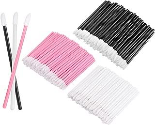 KEDSUM 300pcs Disposable Lip Brush Lipstick Wands Lip Gloss Applicators Cosmetic Tool Kits