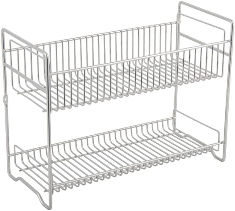 FLHAINVER Double-Layer Luxury Rack Kitchen Finishing 304 Factory outlet Stainless
