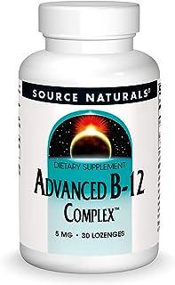Source Naturals Advanced B-12 Complex,Promotes Normal Folic Acid Metabolism, 30 Tablets