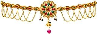Jaipur Mart Preyans Kamarband Belly-Chain Tagdi for Women (Golden) (KMBND197MG)