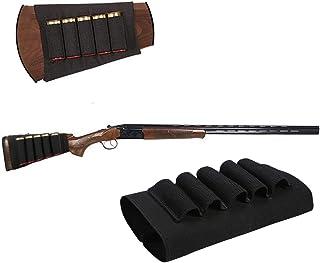 Huntvp Pochette de Stockage de Cartouche de Fusil de Chasse Tactique pour 10 Cartouches de Balle Poche de Poche Molle pour Jeu de Chasse de Tir CS
