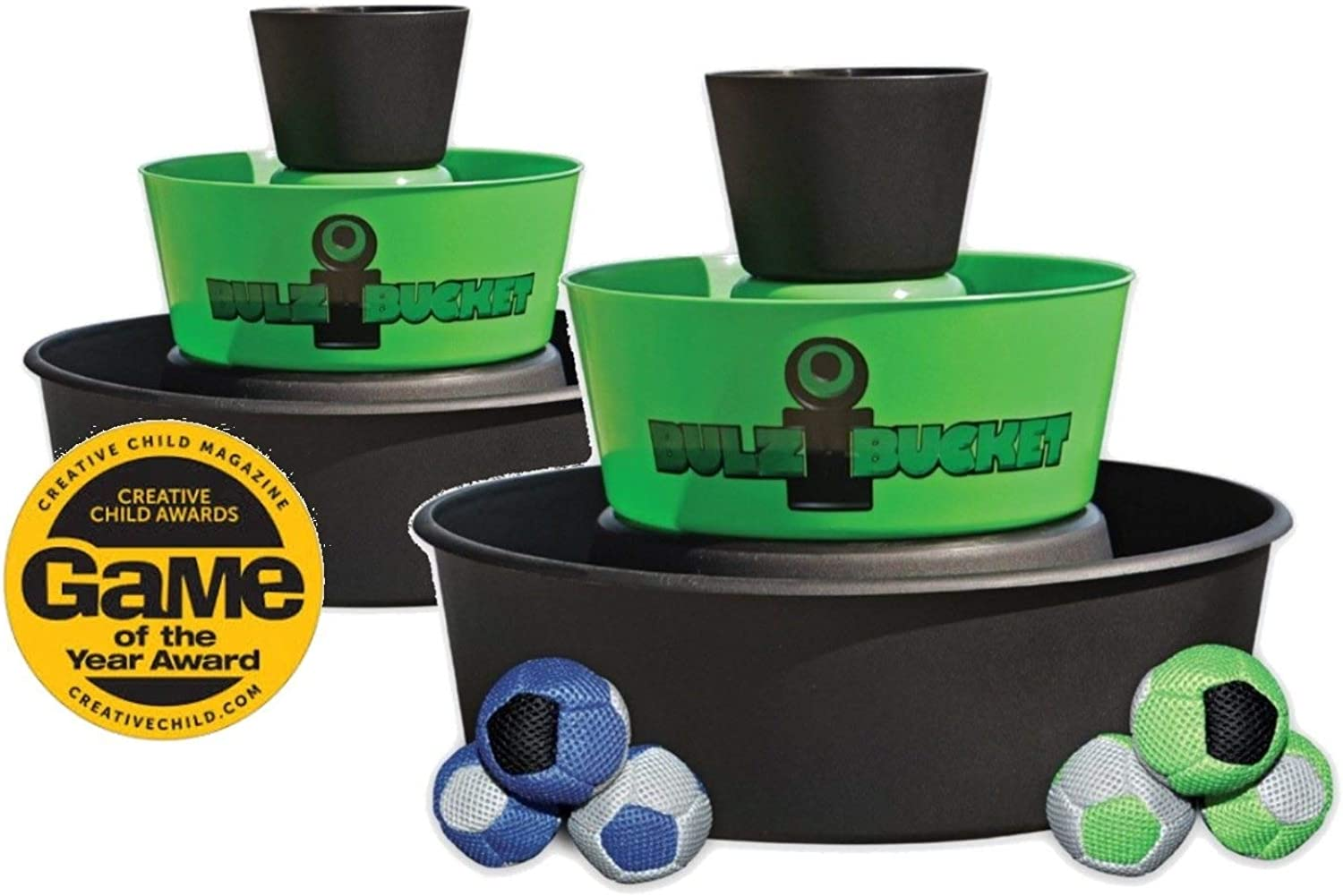 BULZiBUCKET Beach, Tailgate, Camping, Yard Game Indoor Outdoor by Kid Agains