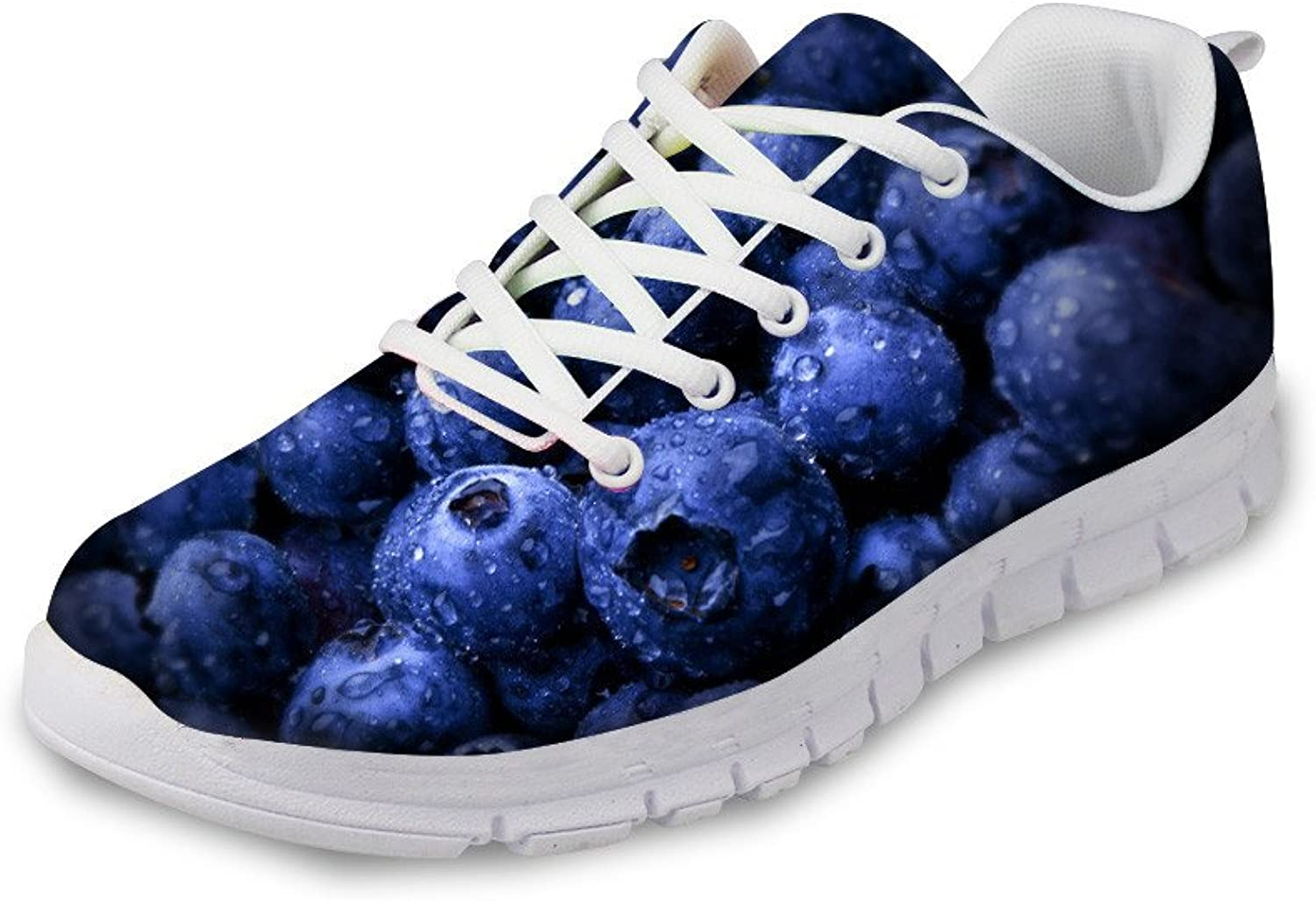 Frestree Breathable Lace up Trainer Athletic Breathable Sport shoes Girls Athletic Sneakers