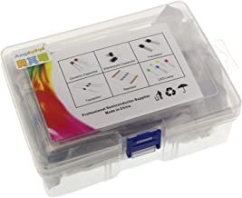 Generic 1490pcs Electronic Components Basic Starter Kit Assortment LED Diodes Transistor Electrolytic Capacitors Resistors...