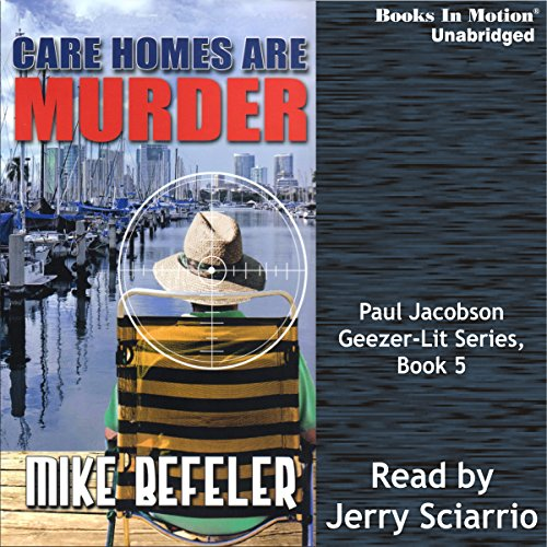 Care Homes Are Murder audiobook cover art